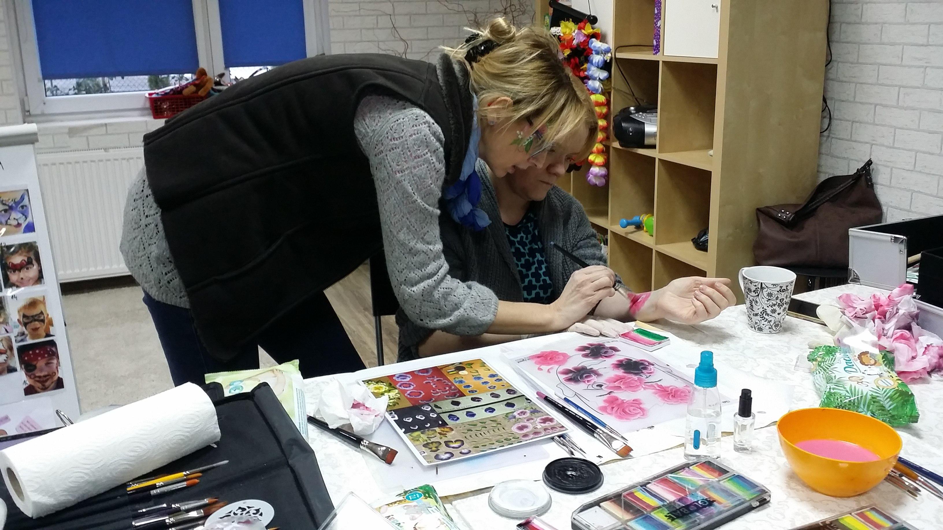 szkolenie face painting